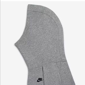 Nike Tops - Nike Girls Tech Fleece Hoodie Grey